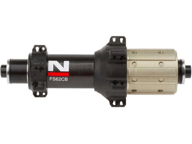 Novatec Ultralight Moyeu arrière route carbonne 11s Shimano, black